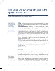 #4Firm value and ownership structure in the Spainish Capital Market.pdf
