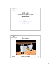 OPTI 380A Lab 4 - Wave Motion - Presentation Slides-1