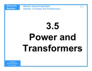 3.5_Power_and_Transformers