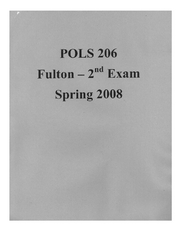 POLS_206_FULTON_EXAMII_REVIEW