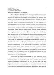 Fair Housing Act Violations Paper