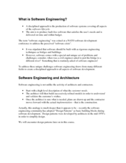 1 - what is software engineering