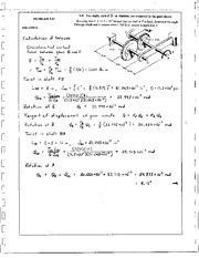 198_Mechanics Homework Mechanics of Materials Solution