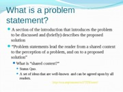 Problem Statement Worksheet