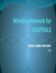 Wireless Network for HOSPITALS.pptx