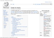 Center for Inquiry - Wikipedia, the free encyclopedia