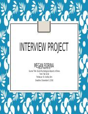 Interview Project final.pptx