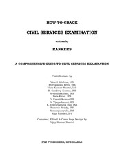 how to crack civil services examination