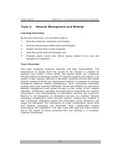 20140828095059_Topic 4 Network Management and Mobility