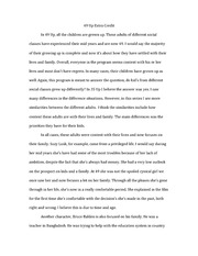 49 Up - Extra Credit Essay
