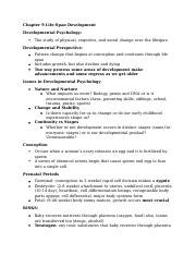 Psych Ch 9 Notes