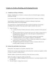 Marketing - Chapter 11 Guide.docx