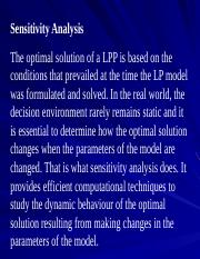 L18_Sensitivity analysis - Changes affecting feasibility.ppt