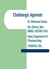 2 Cholinergic Agonists.ppt