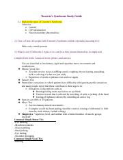 Tourette's Study Guide-2