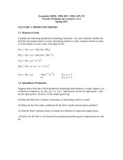 economics 2020b practice problems for lectures 1 to 8 spring 2011