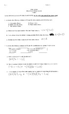 Phil 241 Practice final exam solutions