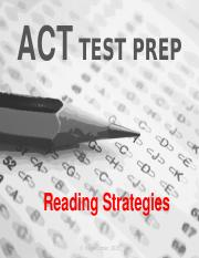 ACT Reading Strategies PP.pptx