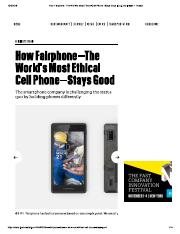 comm 210- ethical cell phone