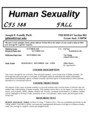 CFS 388 ##FALL 2013 Syllabus 002(1) (6)