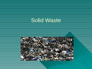 Solid Waste Notes