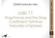 Lab11 Drag forces and drag coefficient