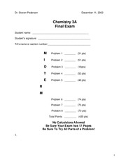 chem3a-fall02-final-Pedersen-exam