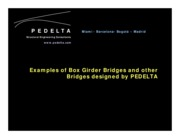 PEDELTA-Bridges