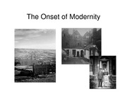 Lecture 1 The Onset of Modernity pdf version
