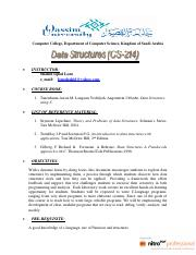 Lecture Notes Data Structures CSC-214.pdf