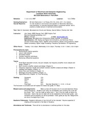 syllabus 3220 fall 2004 (Electronics II)
