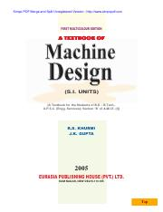 Machine-Design-R-S-Kurmi
