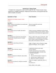 Health Unit 1 study Guide (4).docx