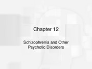 chapter12 Schizophrenia  DurandandBarlow (2)