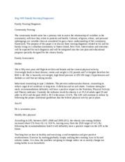 friedman family assessment example