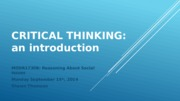 1. Critical Thinking_Intro (actual)
