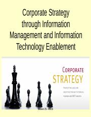 Session 25 -  Corporate Strategy Slide Deck.ppt