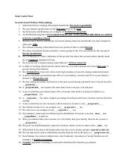 Copy of Study Guide Final