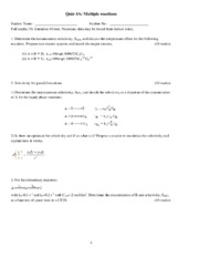 solution+Quiz4++Multiple+reactions