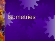 9-0 Isometries