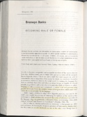 1 Becoming male or female_Davies