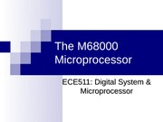 SEMJUL08 - LECT04 - THE M68K MICROPROCESSOR COMPLETED