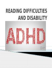READING DIFFICULTIES AND DISABILITY.pptx