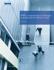 IFRS- Implementation Challenges and Approch for Banks in India.pdf