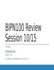 Review Session 10.15.pptm
