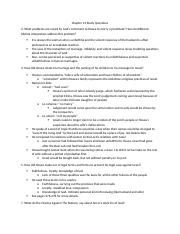 Chapter 12 Study Questions