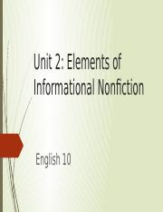 English_10_Plato_Unit_2_Elements_of_Informational_Texts_Nonfiction.pptx