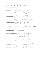 Exam3_2007Spring_EquationSheet