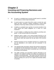 ACCT240_Investing and Financing Decisions and the Accounting System