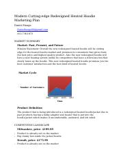 Business marketing plan micro economics.docx